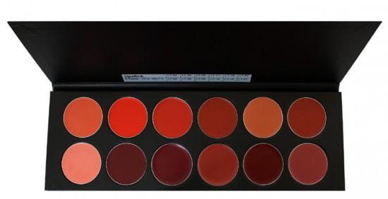 Lippenstift Palette 12
